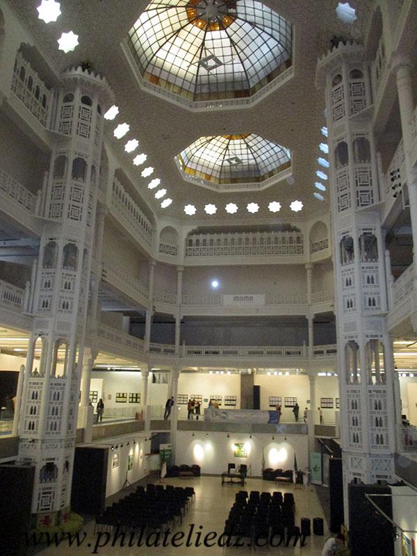Exposition philatélique au Musée Mama Img_0817