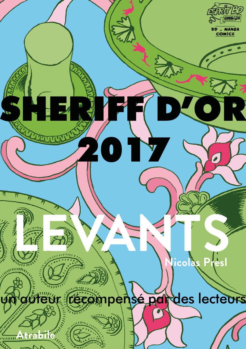 Sheriff d'or 2017 : Levants de Nicolas Presl Affich16