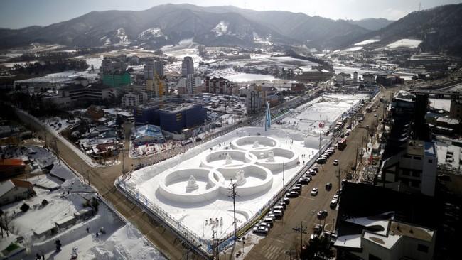 Les Jeux olympiques d'hiver 2018 à Pyeongchang en Corée du Sud An-ice10