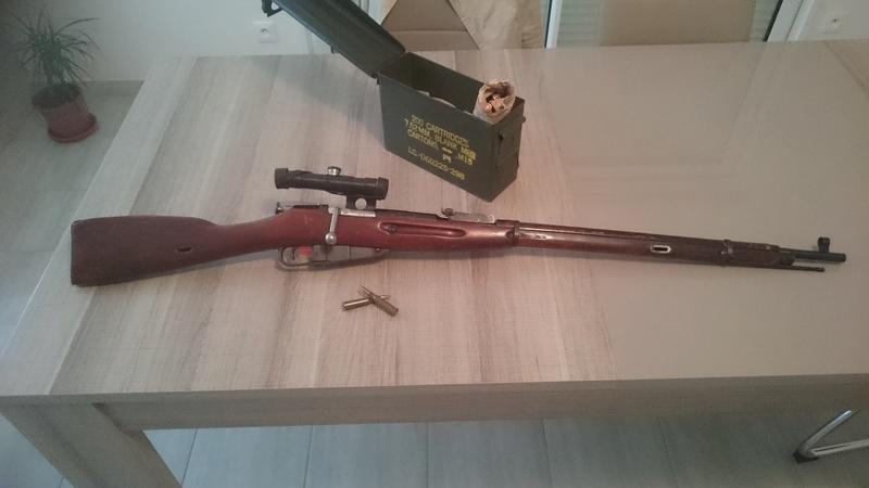 Mosin nagant Sniper TULA 1943 110