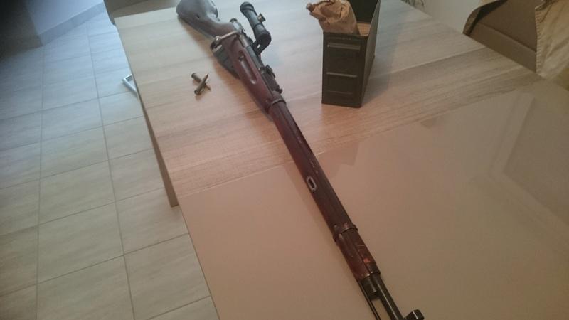 Mosin nagant Sniper TULA 1943 210