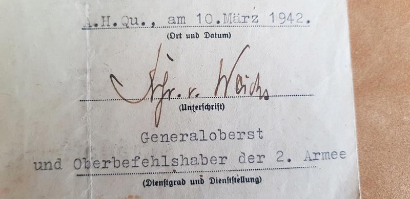 diplôme Sturmabzeichen (badge d'assaut général)+badge  2018-142