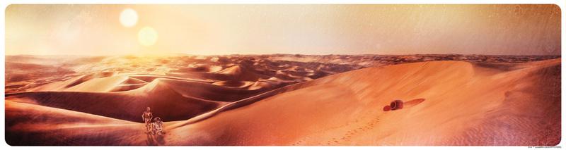 Artwork Star Wars - ACME - Tatooine Sunset Swpplt11