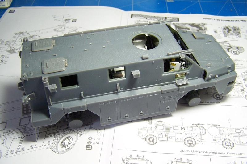 ASLAV et Bushmaster Bushma26