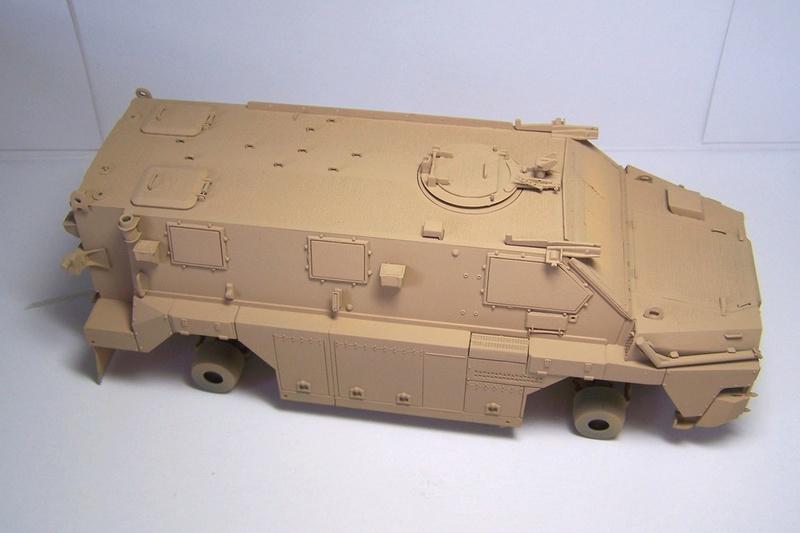 ASLAV et Bushmaster Bushma28