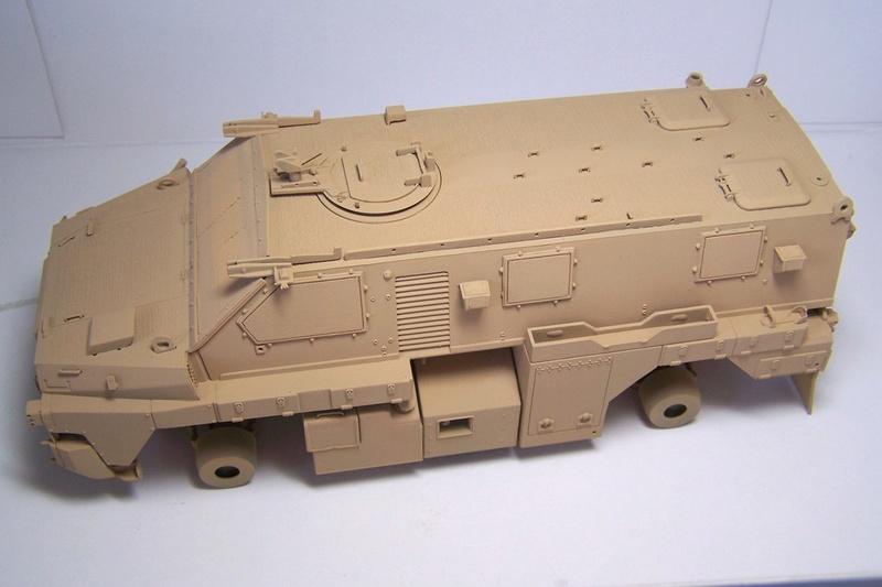 ASLAV et Bushmaster Bushma29