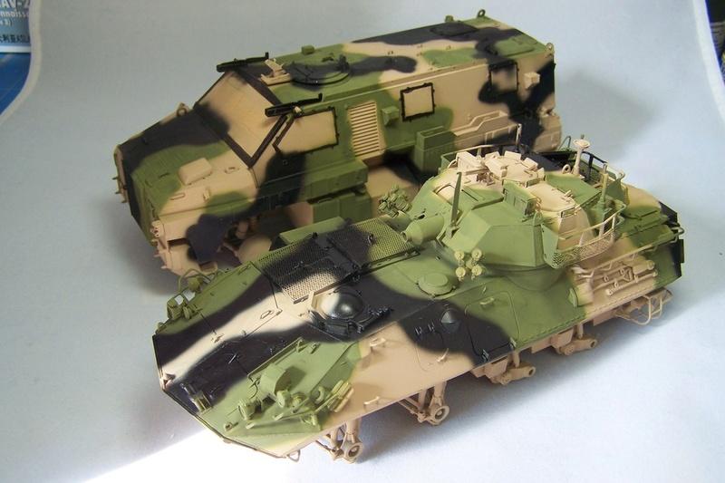 ASLAV et Bushmaster Bushma30