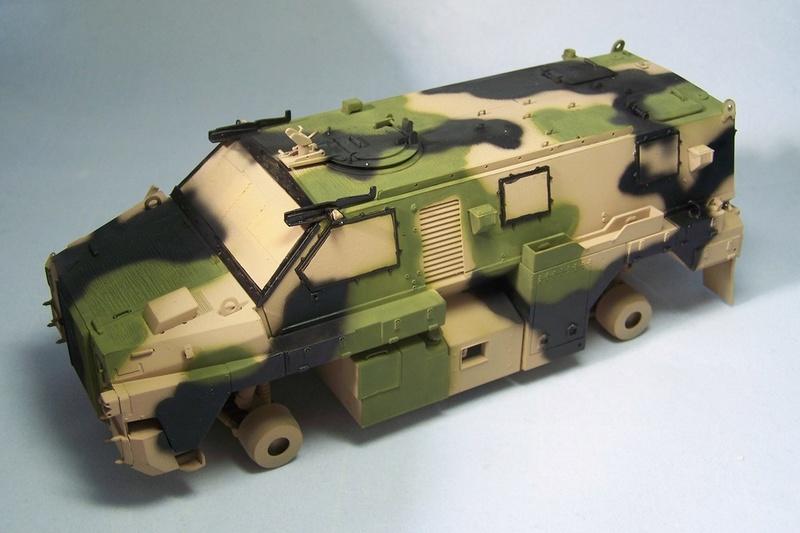 ASLAV et Bushmaster Bushma31