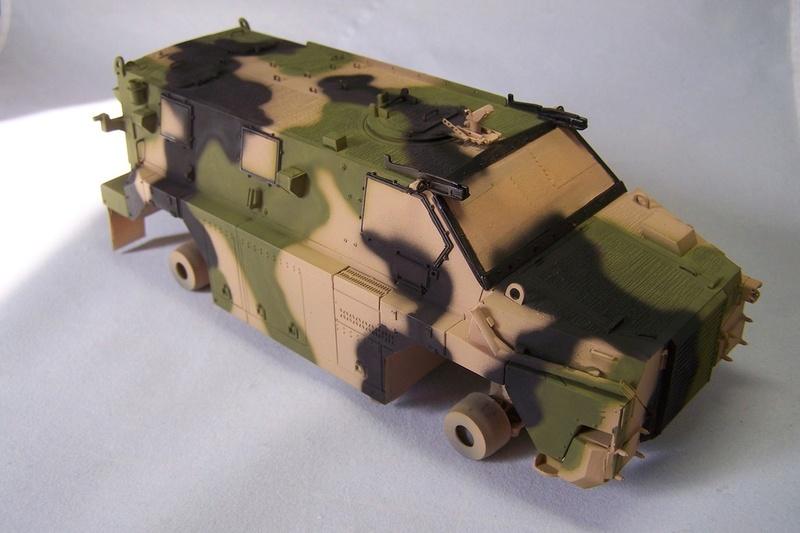 ASLAV et Bushmaster Bushma32