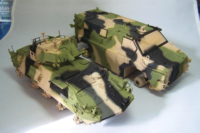 ASLAV et Bushmaster Bushma33
