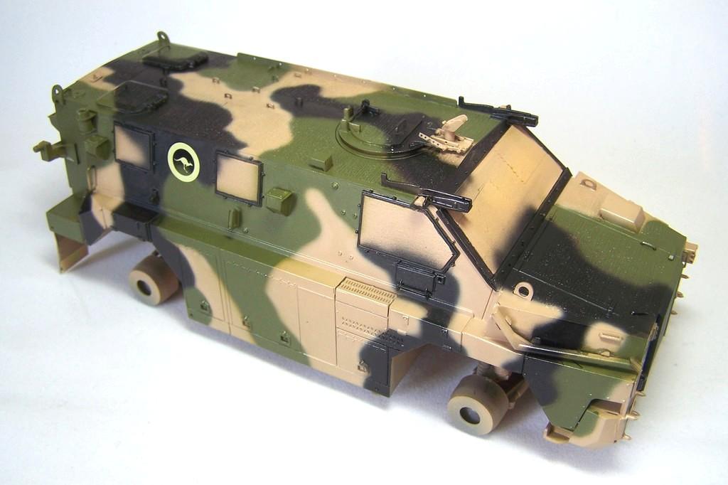 ASLAV et Bushmaster Bushma34