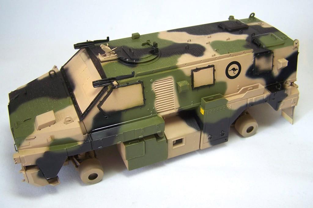 ASLAV et Bushmaster Bushma35