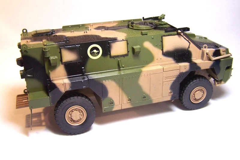 ASLAV et Bushmaster Bushma37