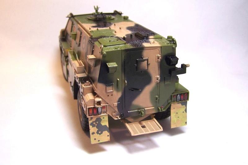 ASLAV et Bushmaster Bushma38
