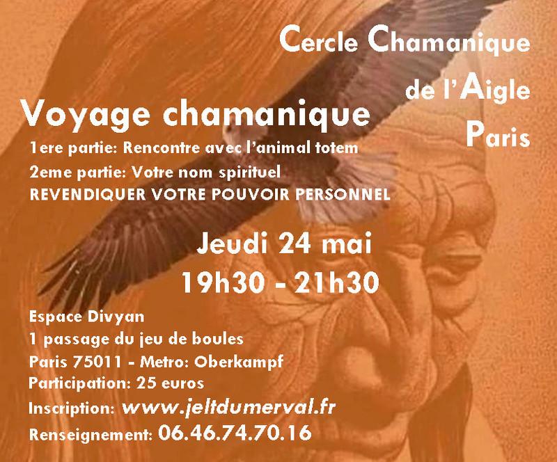 Voyages Chamanique a Paris Cercle12