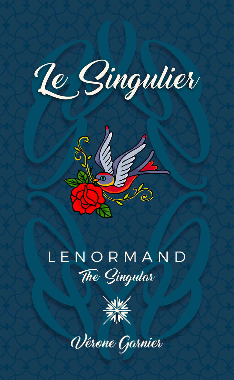 Lenormand Vérone LE SINGULIER- The SINGULAR deck Lenorm13
