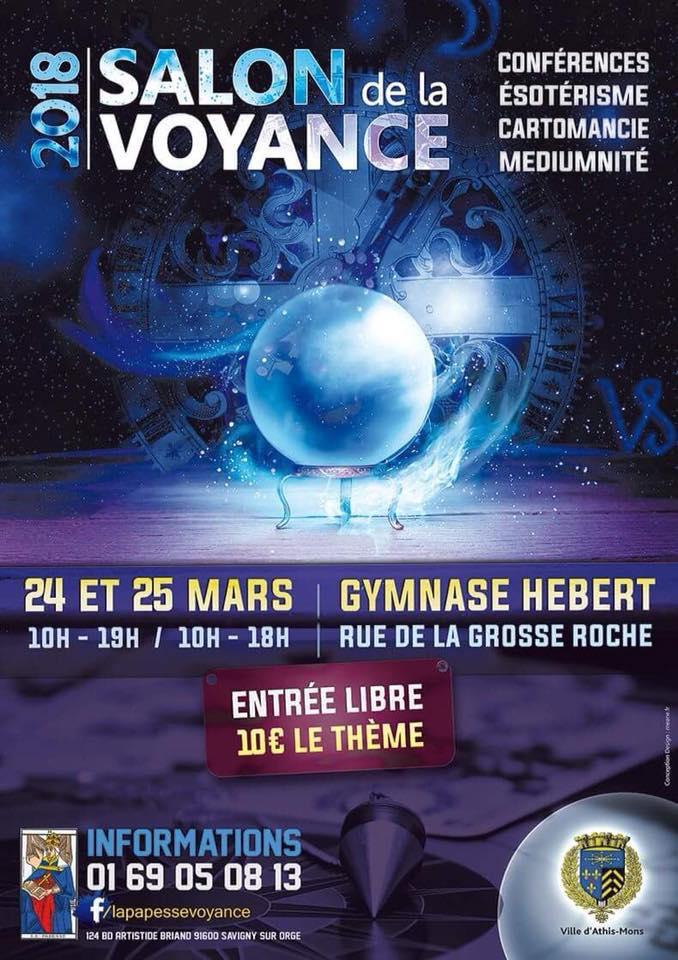 Salon de la Voyance a Athis - Mons 24 & 25 Mars 2018 Salon_12