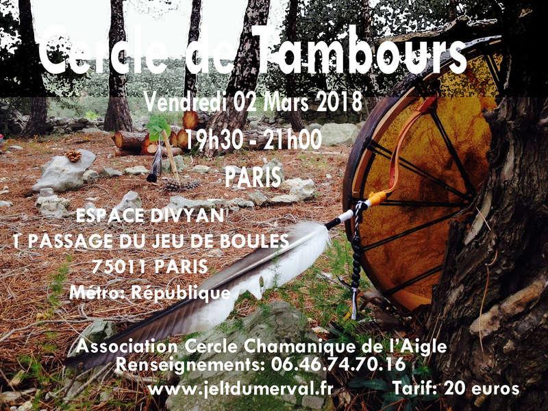 Cercle Chamanique de Paris Ateliers Voyage avec les Esprits V2mars11