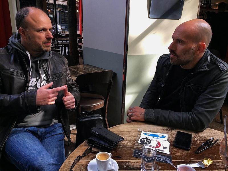 Rencontre parisienne avec Bart Kuykens 31563810