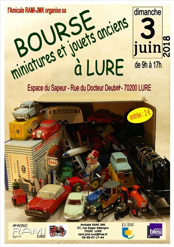 Bourse d'échanges de jouets anciens de LURE ( 70 ) Affich11