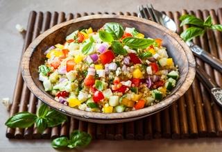 Salade de Quinoa, Avocat, Pois chiche... Salade10
