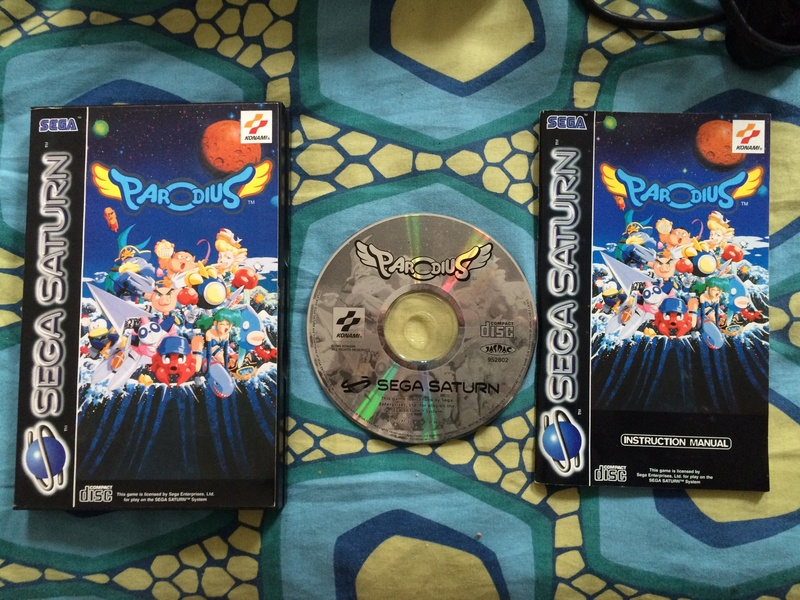 [VDS] Saturn pads et cables +jx: Parodius, Sega Rally, C. Nights... Fullsi24