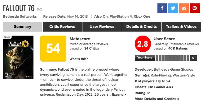 Fallout 76, le *jeu de l'année* Screen35