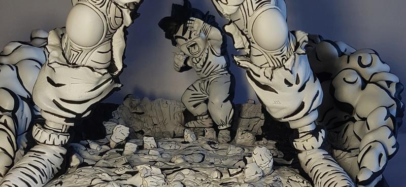 Piccolo tsume Black and White by Jonas 20180216