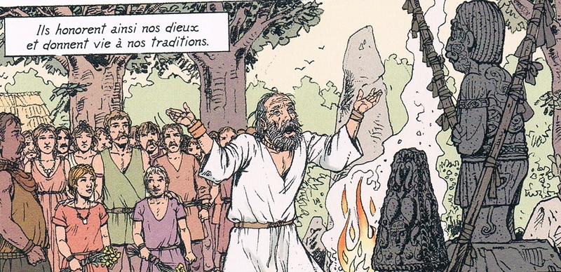 Alix et les Druides  D210