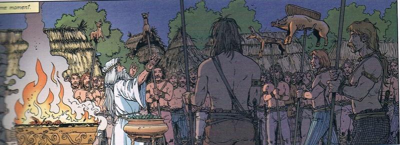 Alix et les Druides  D410