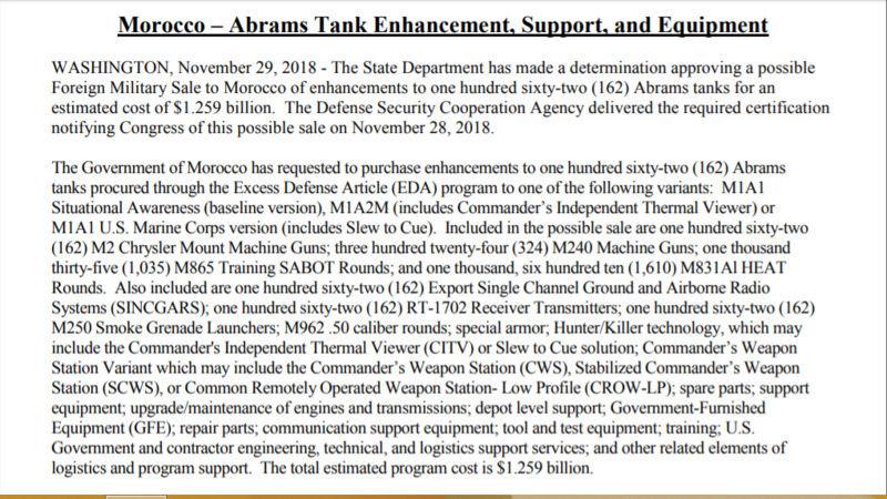 384 Abrams M1A1 SA for Morocco - Page 21 Morocc10