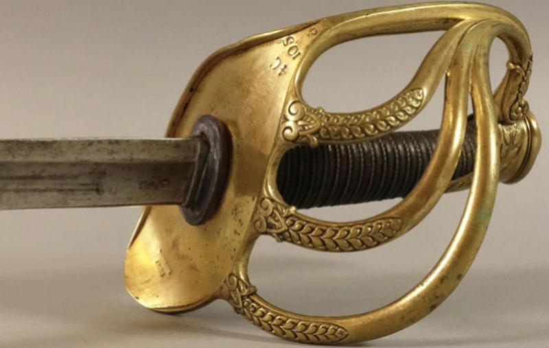 Un sabre d'officier de cavalerie de ligne modèle 1822 Captur14