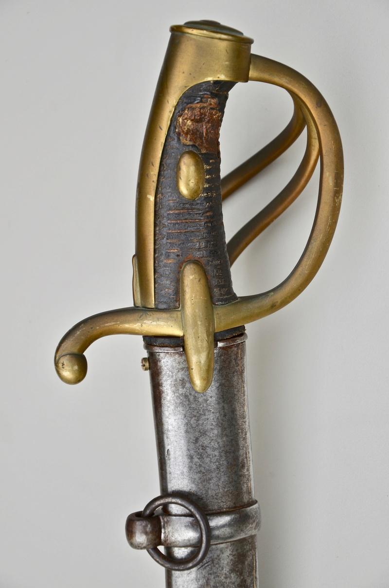 Un sabre de cavalerie légère an 11 d'avant la campagne de Russie Dsc_7516