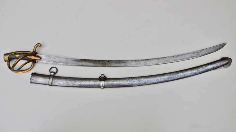 Un sabre de cavalerie légère an 11 d'avant la campagne de Russie Dsc_7518