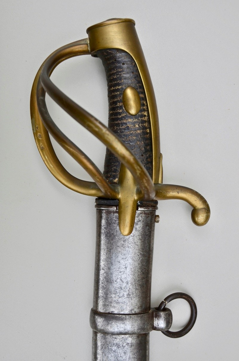Un sabre de cavalerie légère an 11 d'avant la campagne de Russie Dsc_7519