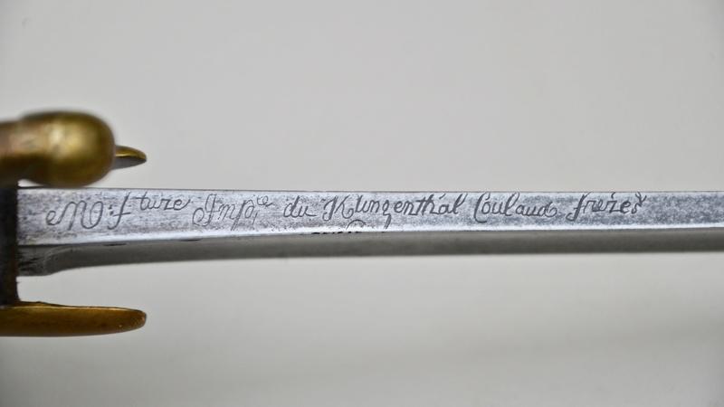 Un sabre de cavalerie légère an 11 d'avant la campagne de Russie Dsc_7520