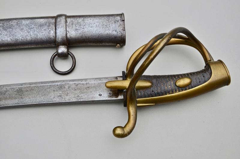 Un sabre de cavalerie légère an 11 d'avant la campagne de Russie Dsc_7521