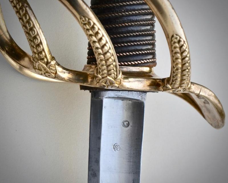 Un sabre d'officier de cavalerie de ligne modèle 1822 Dsc_7611