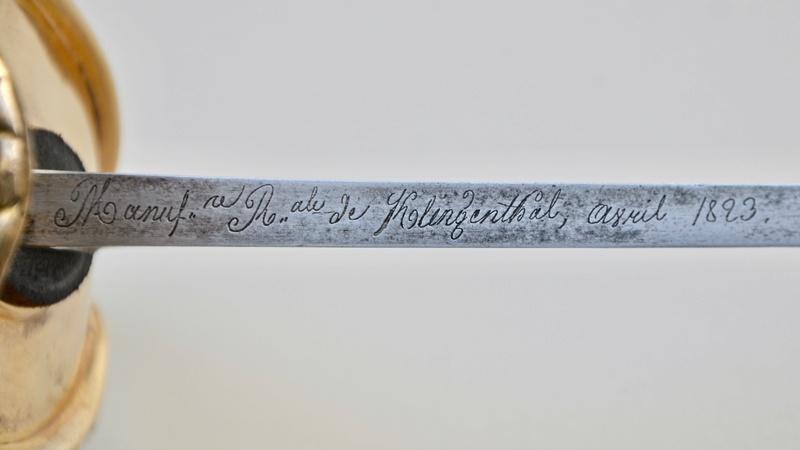 Un sabre d'officier de cavalerie de ligne modèle 1822 Dsc_7614