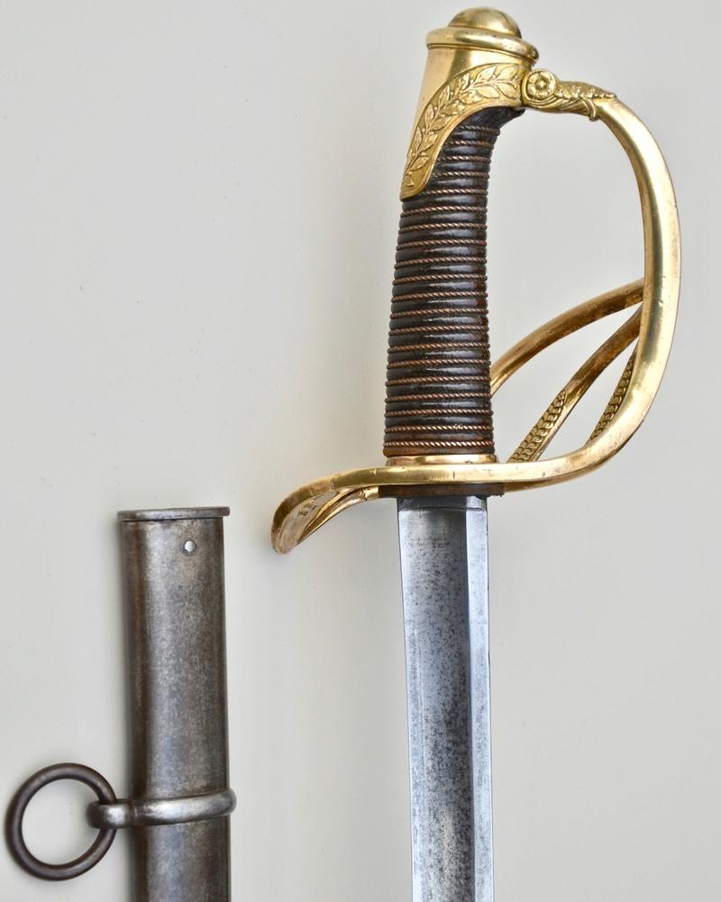 Un sabre d'officier de cavalerie de ligne modèle 1822 Dsc_7617