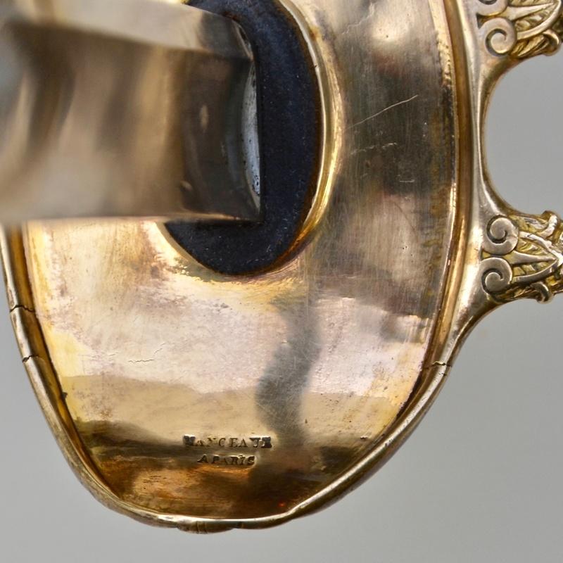 Un sabre d'officier de cavalerie de ligne modèle 1822 Dsc_7618