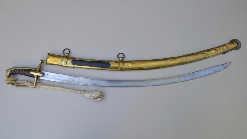 Sabre de Chasseur-à-Cheval de La Garde... authentification Fulls162