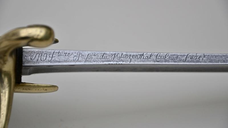 Un sabre de cavalerie légère an 11 d'avant la campagne de Russie - Page 2 Fullsi98