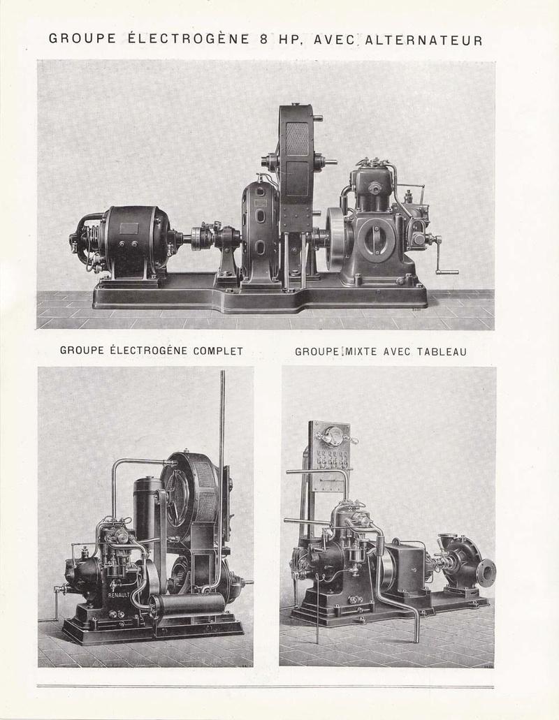 RENAULT - Moteur Renault 2 cylindre Type 93 62719510