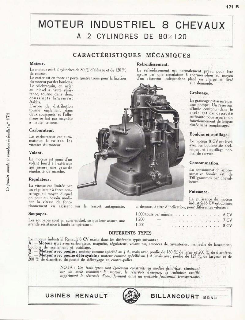 RENAULT - Moteur Renault 2 cylindre Type 93 70315710