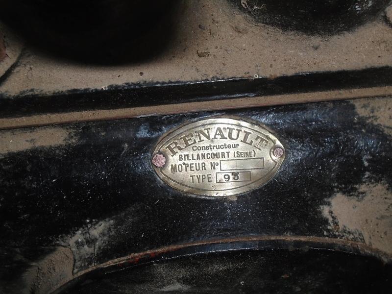 RENAULT - Moteur Renault 2 cylindre Type 93 Renaul10