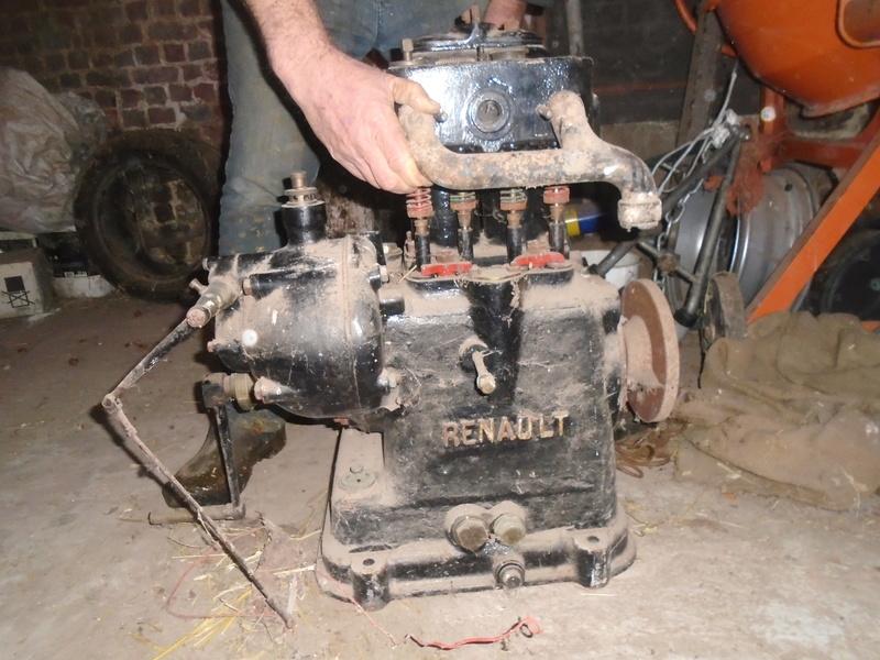 RENAULT - Moteur Renault 2 cylindre Type 93 Renaul11
