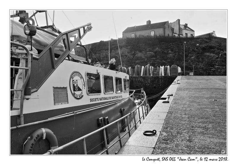 [ La S.N.S.M. ] SNSM Île Molène 20180310