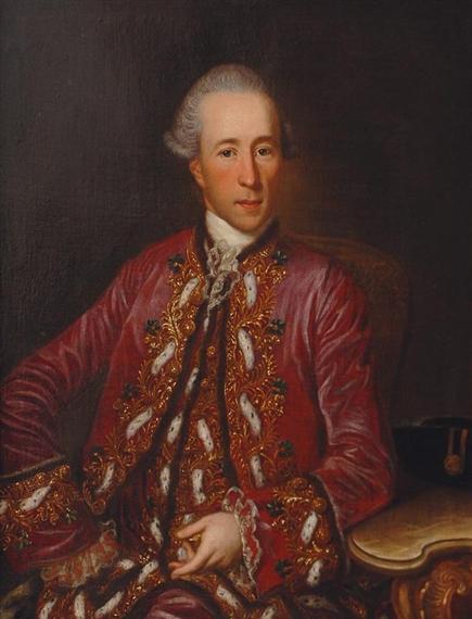 peinture : Georg Anton Abraham URLAUB (1744-1786) 12941410