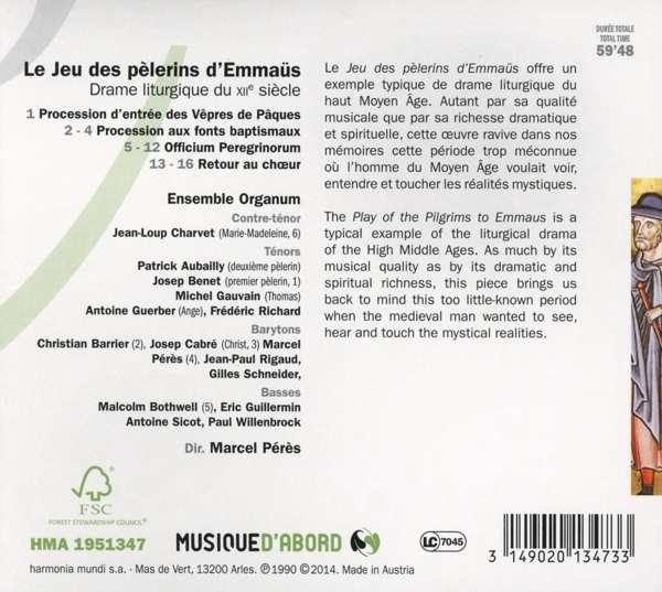 Le Jeu des Pèlerins d'Emmaus (auteur anonyme 12ème siècle) 31490210
